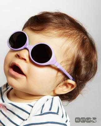 Ki et La Occhiali da Sole Baby Diabola 0-18 Mesi - Malva - Anti UVA+UVB e Infrangibili! Occhiali