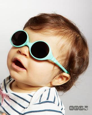 Ki et La Occhiali da Sole Baby Diabola 0-18 Mesi - Verde Menta - Anti UVA+UVB e Infrangibili! Occhiali