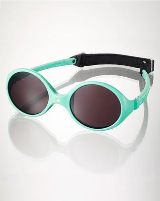 Ki et La Occhiali da Sole Baby Diabola 0-18 Mesi - Verde Menta Anti UVA+UVB e Infrangibili! Occhiali