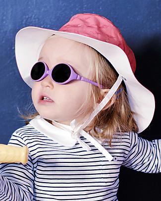Ki et La Occhiali da Sole Baby Diabola 0-18 Mesi - Viola Anti UVA+UVB e Infrangibili! Occhiali