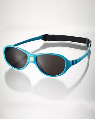 Ki et La Occhiali da Sole Baby Jokaki 12-30 Mesi - Blu Pavone - Anti UVA+UVB e Infrangibili! Occhiali