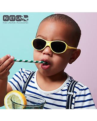 Ki et La Occhiali da Sole Baby Jokaki 12-30 Mesi - Giallo - Anti UVA+UVB e Infrangibili! Occhiali