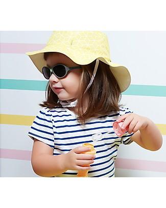 Ki et La Occhiali da Sole Baby Jokaki 12-30 Mesi - Grigio Scuro - Anti UVA+UVB e Infrangibili! Occhiali