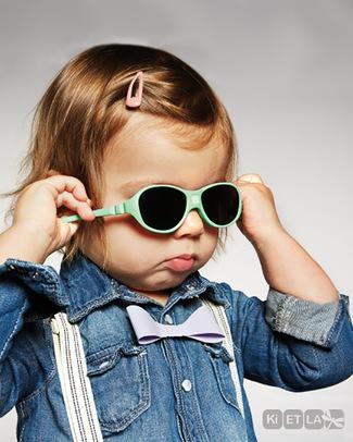 Ki et La Occhiali da Sole Baby Jokaki 12-30 Mesi - Verde Menta - Anti UVA+UVB e Infrangibili! Occhiali