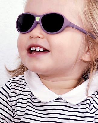Ki et La Occhiali da Sole Baby Jokaki 12-30 Mesi - Viola - Anti UVA+UVB e Infrangibili! Occhiali