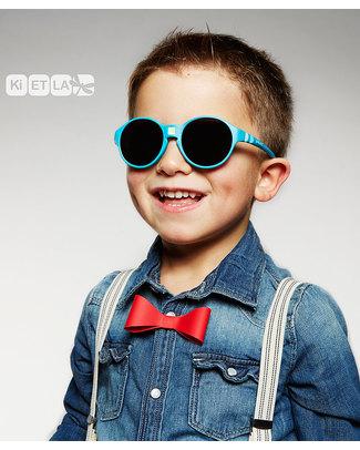Ki et La Occhiali da Sole Bambini Jokakid's 4-6 Anni - Blu Pavone - Anti UVA+UVB e Infrangibili! Occhiali