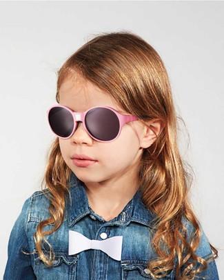 Ki et La Occhiali da Sole Bambini Jokakid's 4-6 Anni - Rosa - Anti UVA+UVB e Infrangibili! Occhiali