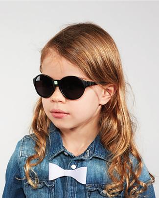 Ki et La Occhiali da Sole Bambini Jokakid's 4-6 Anni - Nero - Anti UVA+UVB e Infrangibili! Occhiali