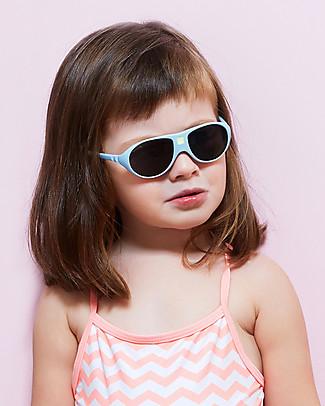 Ki et La Occhiali da Sole Bambini Jokala 2-4 Anni - Azzurro - Anti UVA+UVB e Infrangibili! Occhiali