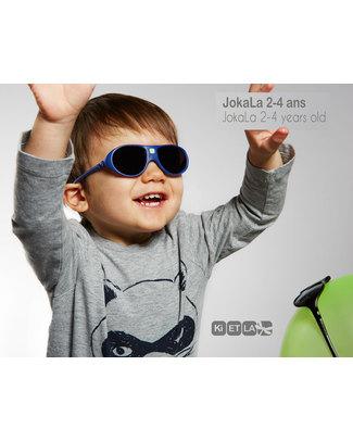 Ki et La Occhiali da Sole Bambini Jokala 2-4 Anni - Blu - Anti UVA+UVB e Infrangibili! Occhiali