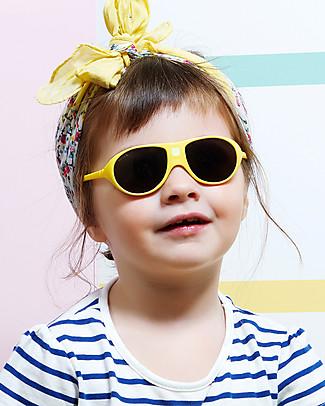 Ki et La Occhiali da Sole Bambini Jokala 2-4 Anni - Giallo - Anti UVA+UVB e Infrangibili! Occhiali