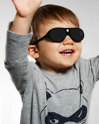 Ki et La Occhiali da Sole Bambini Jokala 2-4 Anni - Nero - Anti UVA+UVB e Infrangibili! Occhiali