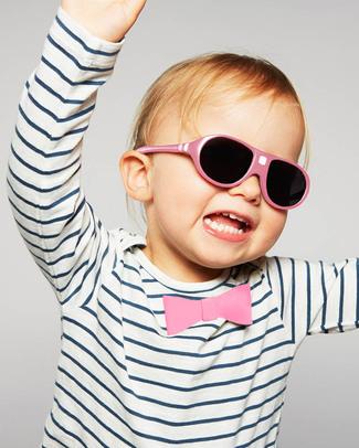 Ki et La Occhiali da Sole Bambini Jokala 2-4 Anni - Rosa - Anti UVA+UVB e Infrangibili! Occhiali