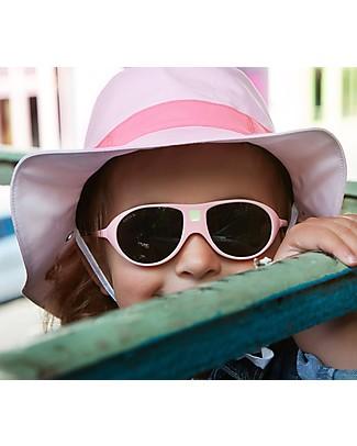 Ki et La Occhiali da Sole Bambini Jokala 2-4 Anni - Rosa Marshmallow - Anti UVA+UVB e Infrangibili! Occhiali