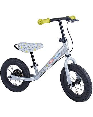 Kiddimoto Bici Senza Pedali Super Junior Maxi, Dinosauri Biciclette Senza Pedali