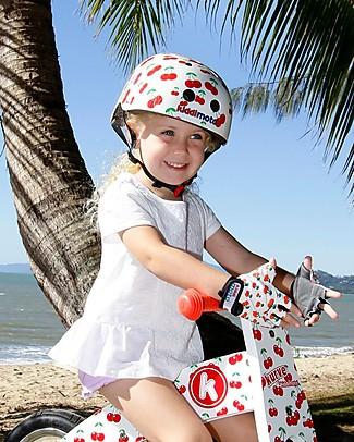 Kiddimoto Casco Bici Fantasia, Ciliegie  Biciclette