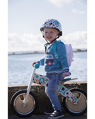 Kiddimoto Elmetto Bici Fantasia, Stelle Biciclette