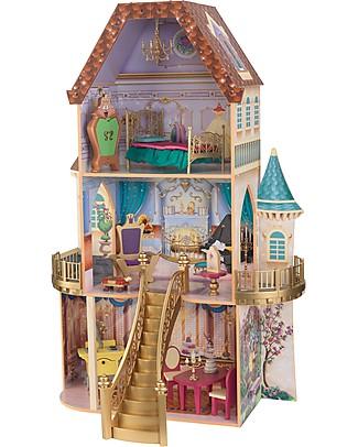 KidKraft Casa delle Bambole Disney, La Bella e la Bestia - Legno Case delle Bambole