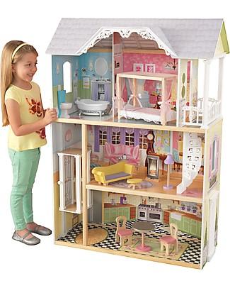 KidKraft Casa delle Bambole Kaylee con Ascensore - Legno Case delle Bambole