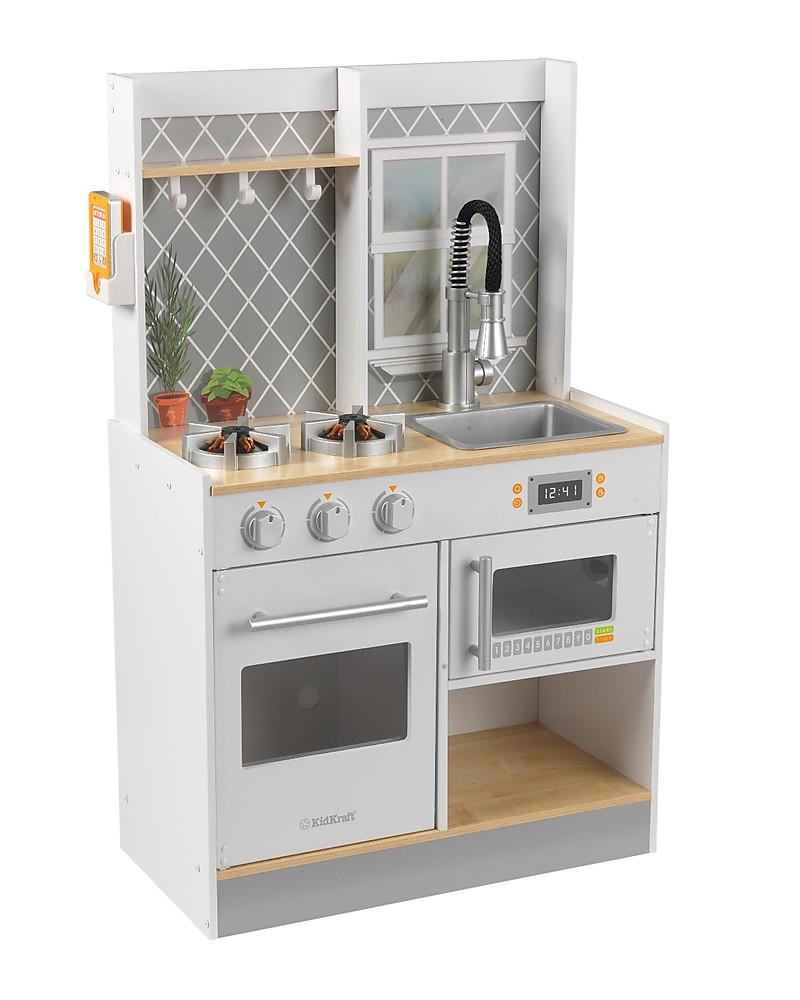 Kidkraft Cucina Giocattolo Let S Cook Con Luci E Suoni Legno Unisex Bambini