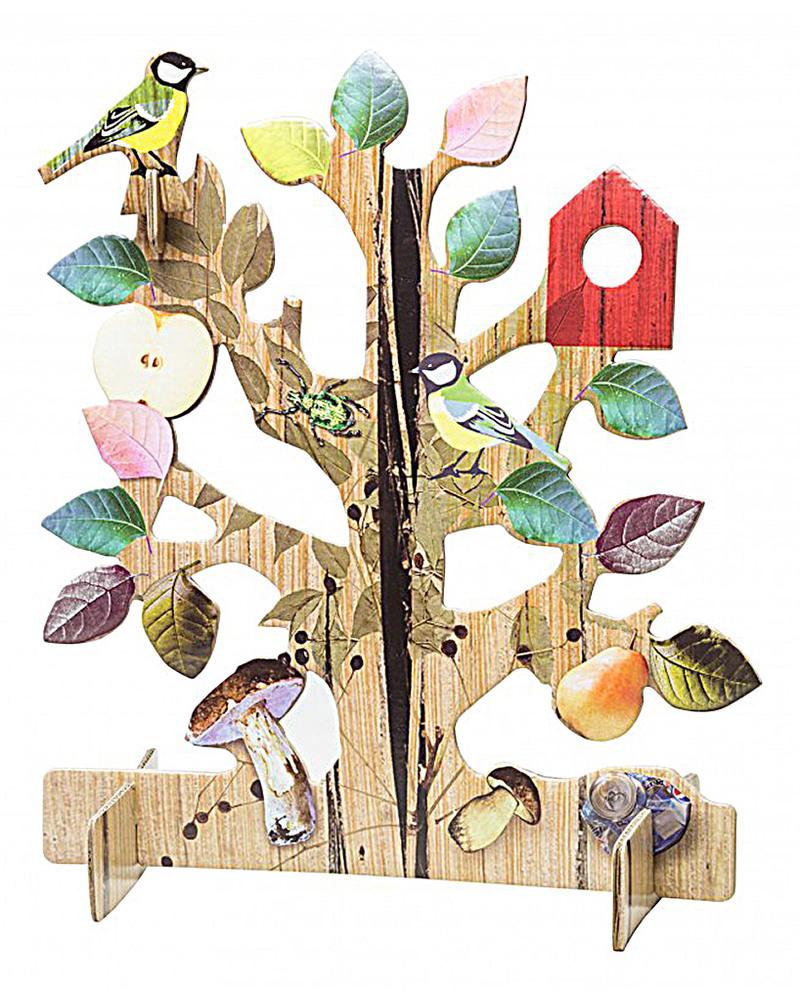 Kidsonroof Grande Biglietto Pop Out Decorativo Albero Della Vita
