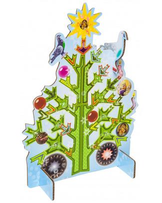 Kidsonroof Grande Biglietto Pop Out Decorativo Albero di Natale - Dimensione A4 - 30 x 21 cm (Cartoncino Riciclato) Biglietti Di Auguri