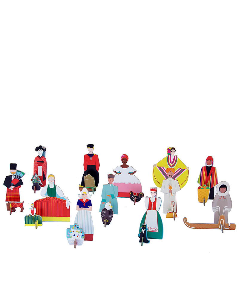 Kidsonroof totem popoli del mondo people of the world - Totem palo modelli per bambini ...