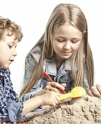 Kinetic Sand Sabbia Cinetica 2,5 Kg, Naturale - Non secca, non sporca, anallergica! Giochi Creativi
