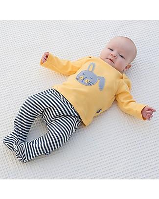 Kite Completino Maglia + Pantalone, Coniglietto – 100% cotone bio Completi