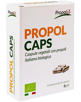 Kontak 20 Propolcaps, Capsule Vegetali di Propoli Italiana Biologica Integratori alimentari