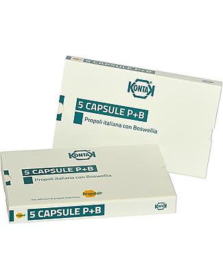 Kontak 5 Capsule P+B, Propoli e Boswellia – Ricambio per diffusore Diffusori e Accessori