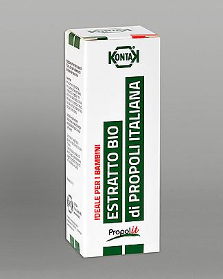 Kontak Estratto Analcolico di Propoli Bio per Bambini, 20 ml - Integratore alimentare ideale per i bambini! Rimedi Naturali