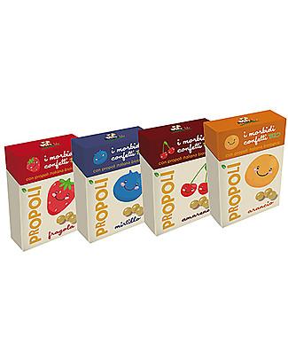 Kontak Morbidi Confetti alla Propoli Bio, Arancio – Un dolcetto sano e benefico! Rimedi Naturali