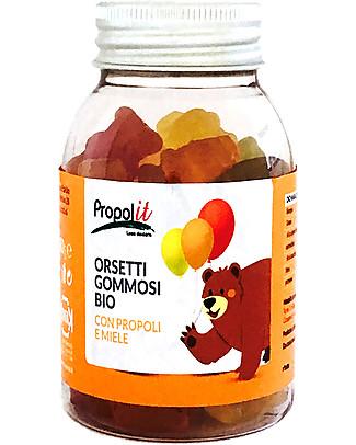 Kontak Orsetti Gommosi Bio, 80 gr - Propoli e Miele Bio Rimedi Naturali