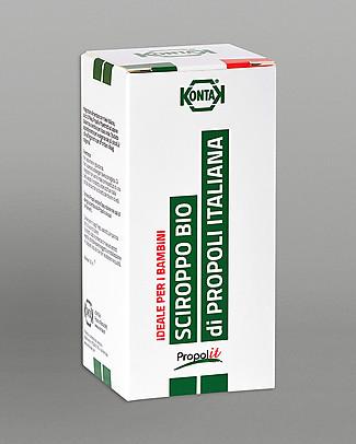 Kontak Sciroppo Balsamico Bimbi Bio di Propoli Italiana, 150 ml - Ideale e Naturale per i Bambini! Rimedi Naturali
