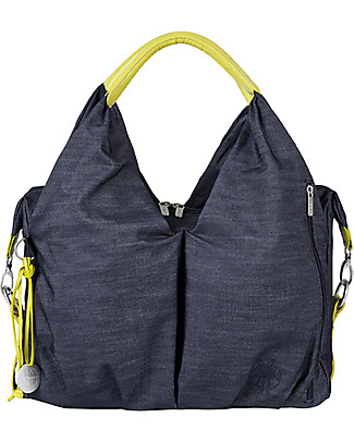 Lässig Borsa Cambio Neckline Green Label, Denim - Super-accessoriata, 100% riciclata Borse Cambio e Accessori