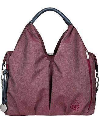 Lässig Borsa Cambio Neckline Green Label, Rosso Borgogna – Super-accessoriata, 100% riciclata Borse Tracolla