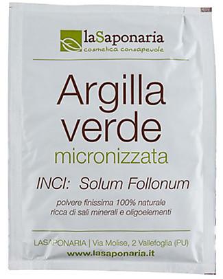 La Saponaria Argilla Verde  - Per Pelli Miste, Grasse o Infiammate Viso