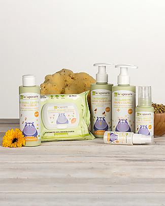 La Saponaria Bio Bagnetto Corpo e Capelli, 200 ml - Ultradelicato, no lacrime Bagno Doccia Shampoo