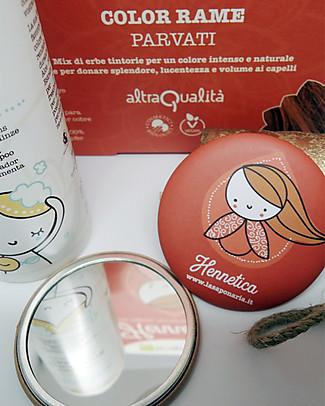 """La Saponaria Bio Tinta Riflessante per Capelli 100% Vegetale , Rame """"Parvati"""" Bagno Doccia Shampoo"""