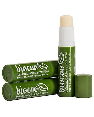 La Saponaria Biocao Balsamo Labbra 5,7 ml - Protettivo Viso