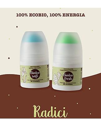 La Saponaria Biodeo Soft, Deodorante Bio con Iris, Bardana e Calendula, 50 ml - Super-Delicata Deodoranti