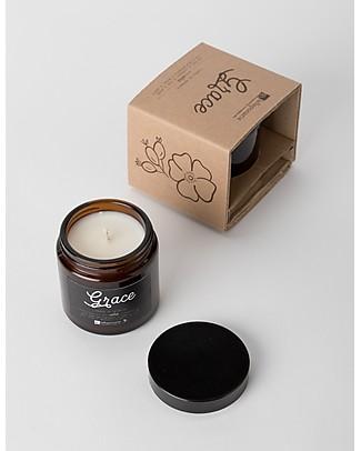 La Saponaria Candela da massaggio Grace, Fiori e Spezie - 100 gr Creme e Olii