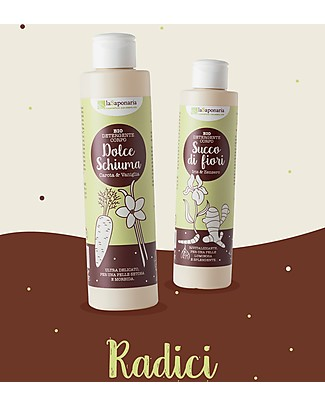 La Saponaria Detergente Corpo con Iris e Zenzero, 200 ml - Per una Pelle Splendente! Creme e Olii