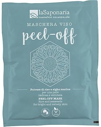 La Saponaria Maschera Viso Peel-Off, 30 gr - Per tutti i tipi di Pelle Viso