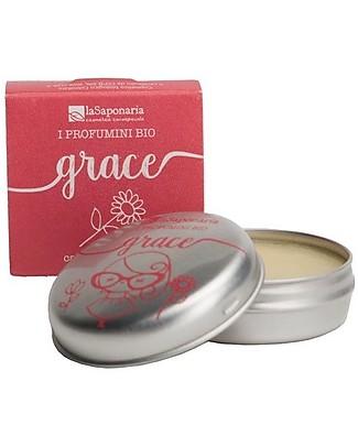 La Saponaria Profumino bio Grace Solido, 15 ml - Sensuale Deodoranti