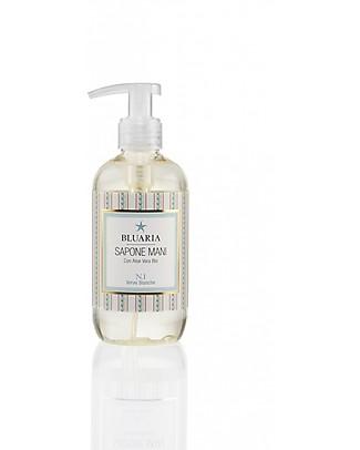 La Saponaria Sapone liquido Mani Bluaria, 250 ml - Deterge e Profuma le Mani Bagno Doccia Shampoo