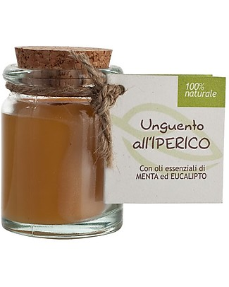 La Saponaria Unguento all'iperico, 30 ml - Arrossamenti e Screpolature Creme e Olii