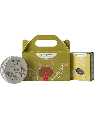 La Saponaria Vixen - Cofanetto mani Menta e Aloe (Crema mani + Sapone ) Creme e Olii