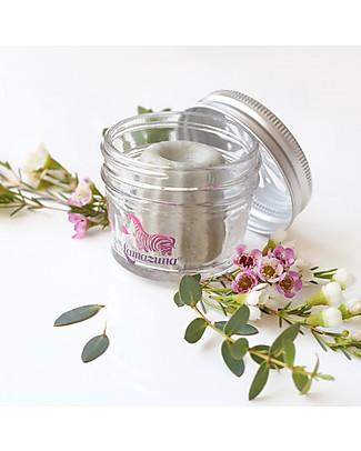Lamazuna Contenitore in Vetro per Cosmetici Solidi - Con tappo forato per asciugatura perfetta! Bagno Doccia Shampoo